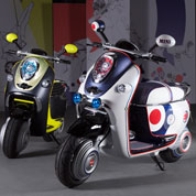 Smart et Mini sur deux roues