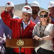 Les 33 mineurs chiliens: un filon pour le pouvoir