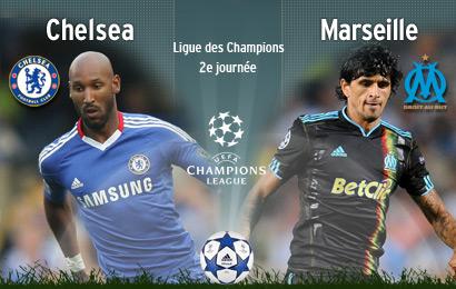 Chelsea-Marseille en DIRECT