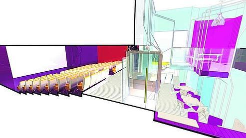Salles de cinéma : déco et extérieurs sous les projecteurs B53ed850-cb22-11df-81f9-06c48fb3168e