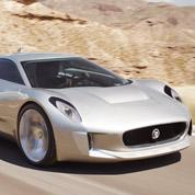 Jaguar : un concept car avec des turbines