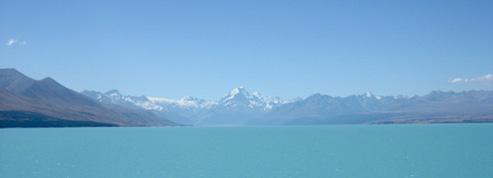 Nouvelle-Zélande, terre de glace <br>et de feu