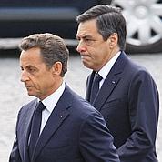 Confiance au plus bas pour Sarkozy et Fillon