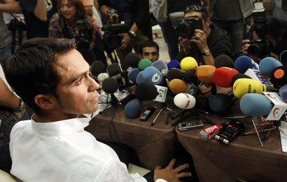 Contador en «victime»