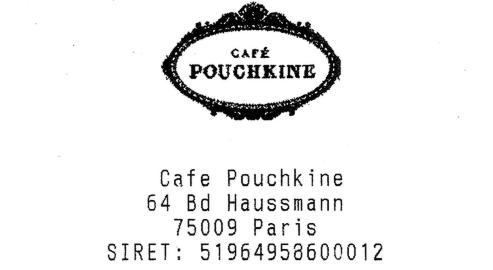 Haché Menu - Café Pouchkine,unelégende en porte-clés