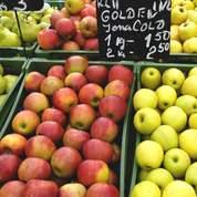 La pomme française plus rare et plus chère