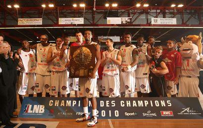 Le premier trophée pour Cholet