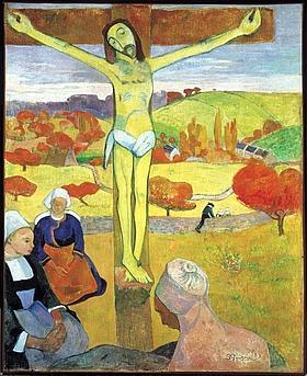 Le Christ jaune, 1889.
