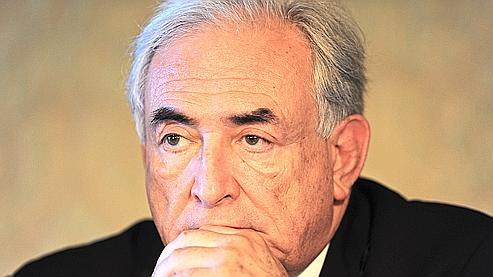 Dominique Strauss-Kahn à Rome le 17 juin dernier.