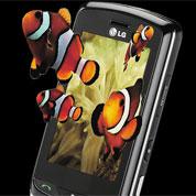 LG invente le téléphone mobile en 3D