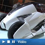 Le scooter réinventé au Mondial de l'auto