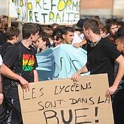 Retraites : des lycéens entrent dans le conflit