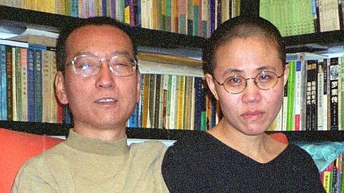 Liu Xiaobo et son épouse Liu Xia.