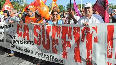 Manifestation à Marseille