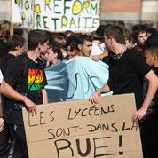 Les manifestations de lycéens inquiètent