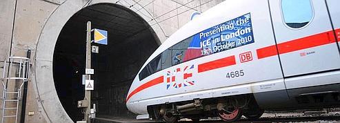 Les TGV allemands prennent le tunnel sous la Manche