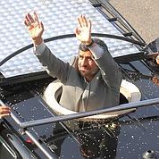 Ahmadinejad accueilli en héros au Liban