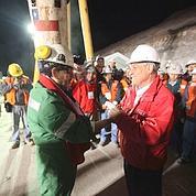 Au Chili, les 33 mineurs ont retrouvé l'air libre