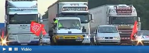 Les routiers entrent dans la mobilisation