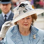 Thatcher hospitalisée pour une grippe
