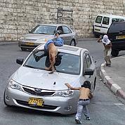 Les jeux dangereux des titis palestiniens