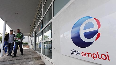Une agence de Pôle emploi au Mans en 2009.