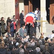 Une foule dense pour les obsèques de Frêche