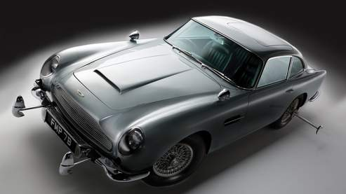 la voiture de james bond vendue 3 3 millions d 39 euros. Black Bedroom Furniture Sets. Home Design Ideas