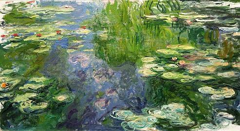 Bassin aux nymphéas,Claude Monet, 1917-1919,estimé de 20 à 30millions de dolla rs.