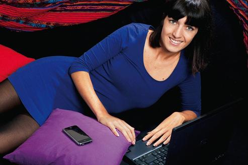 Marion raconte sa vie sur son blog depuis 2007. (Stephan Gladieu/Le Figaro Magazine)