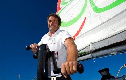 Yves Le Blevec sera l'un des prétendants dans la classe multi 50.
