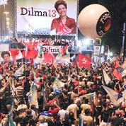 A Sao Paulo, ils étaient des centaines à célébrer la victoire de l'héritière de Lula.
