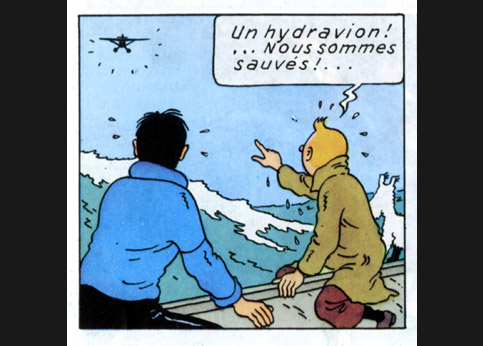 album rencontre tintin capitaine haddock