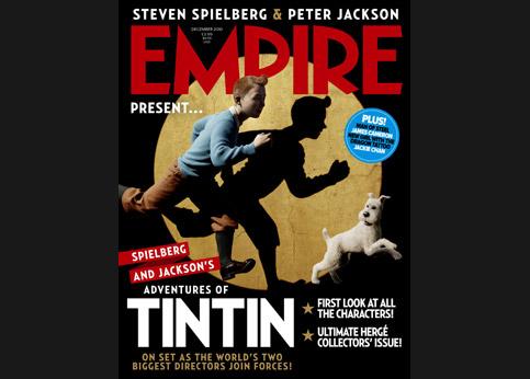 La couverture du magazine anglais