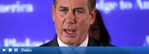 John Boehner, le nouveau visage républicain de la Chambre<br/>