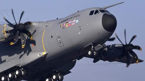 L'A400M d'Airbus Military.