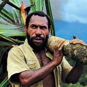 Un pétrolier en Papouasie