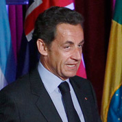 Nicolas Sarkozyà l'heure du G20