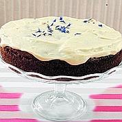 Un gâteau à la carotte, servi dans «Le Café Suédois» de l'Institut suédois.