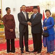 Obama ravi de son retour en Indonésie