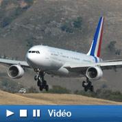 Nicolas Sarkozy étrenne son avion présidentiel