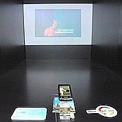 Les mobiles deviennent projecteurs de cinéma