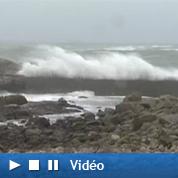 Alerte en Bretagne : la tempête en images
