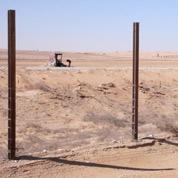 Un mur entre Israël et l'Égypte