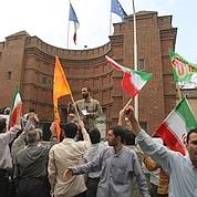 Incidents à l'ambassade de France en Iran