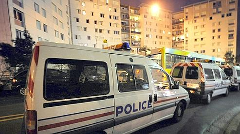 Précédente opération de police, dans une cité des quartiers Nord de Marseille.