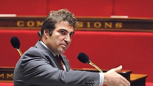 Christian Jacob, nouveau président du groupe UMP à l'Assemblée.