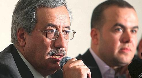 Charbel Nahas, ministre libanais des Télécommunications et représentant d'un parti allié du Hezbollah