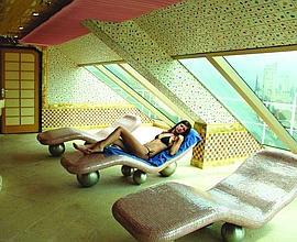 L'espace détente chez Costa. (DR)