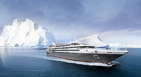 Pour sa première année de navigation, le Boréal croisera cet hiver au départ d'Ushuaia (Argentine) vers les glaces de l'Antarctique. (DR)